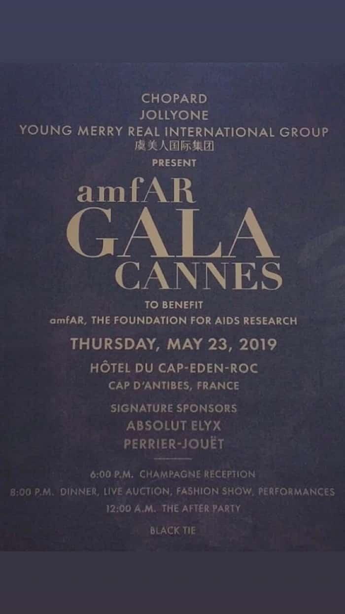 AmfAR Gala 2019 Chandelierrental
