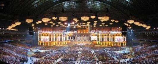 Chandelier Rental Andre Rieu World Stadium Tour 02