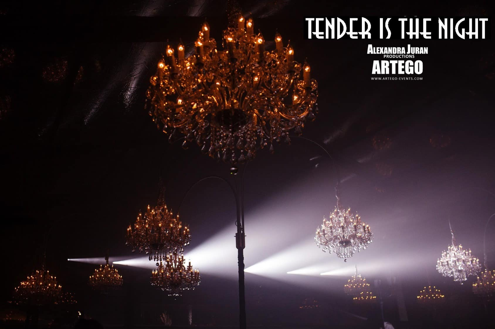 Chandelier Rental Tender Is The Night 4