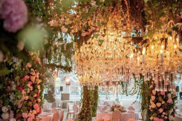 Chandelier Rental Wedding In Valencia 3 600x400