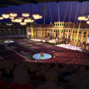 Kroonluchterverhuur Andre Rieu World Stadium Tour Gelredome 300x300
