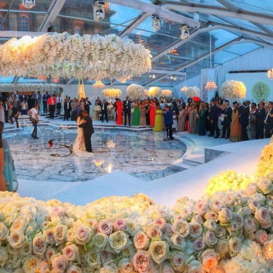 White Wedding Blemheim Palace 1 550x550